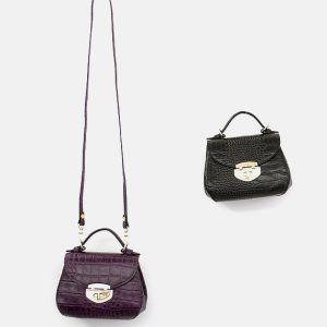 Set Of Cute Leather Handbags
