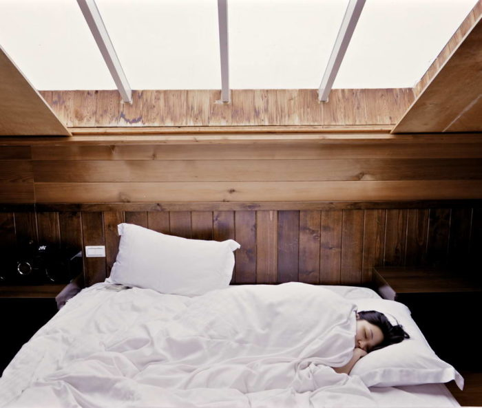 Sleeping in this Sunday