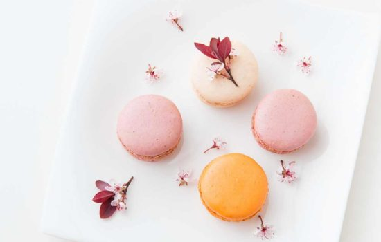 French sweet delicacy, macaroons